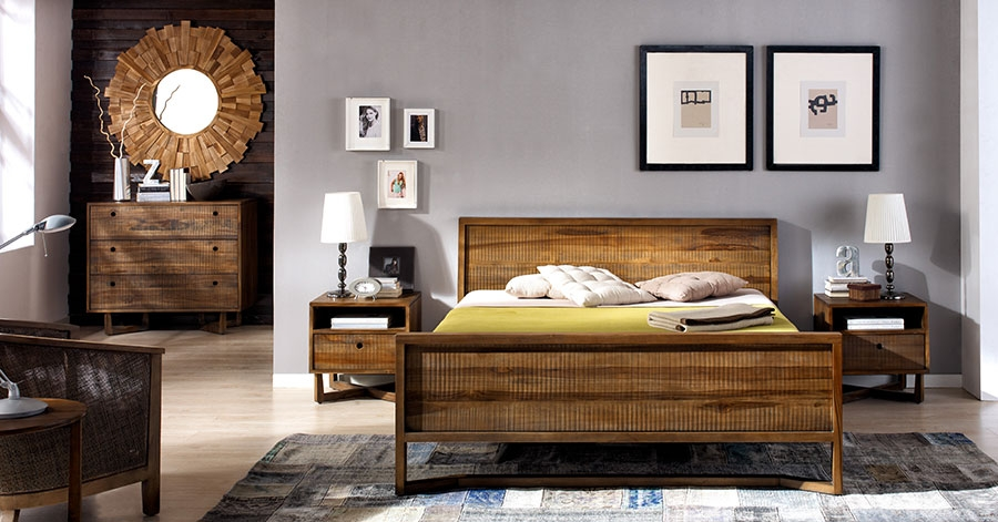 Chambre à coucher coloniale - Meuble colonial - Univers ...