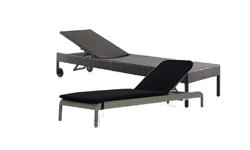 Chaise longue & bain de soleil