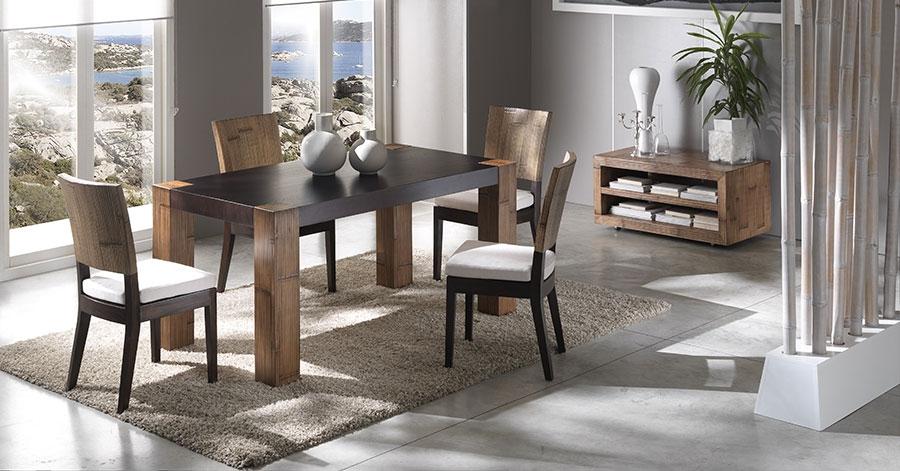 l 39 univers de la salle manger bambou. Black Bedroom Furniture Sets. Home Design Ideas