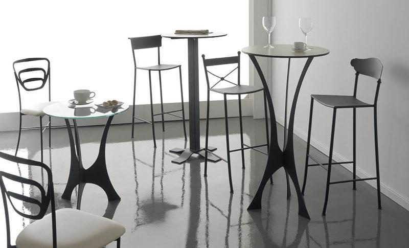 salle manger fer forg. Black Bedroom Furniture Sets. Home Design Ideas