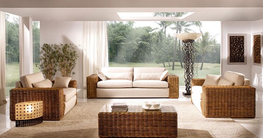 salon et living colonial. Black Bedroom Furniture Sets. Home Design Ideas