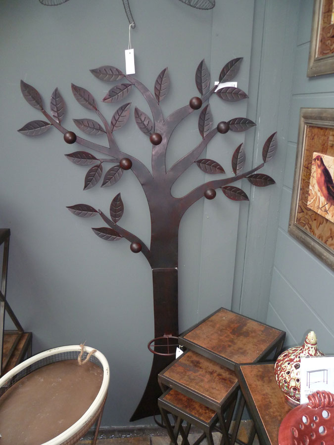 arbre porte manteaux mural fer forg. Black Bedroom Furniture Sets. Home Design Ideas