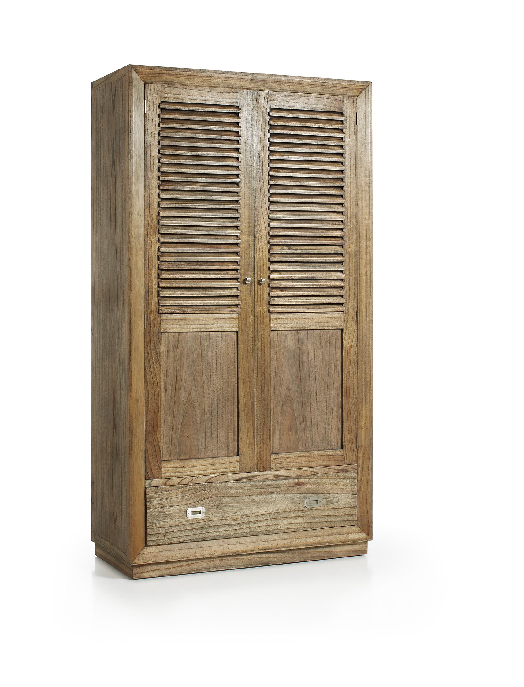 Armoire De Chambre Avec Penderie armoire de chambre avec penderie, en bois de mindy, collection ronja