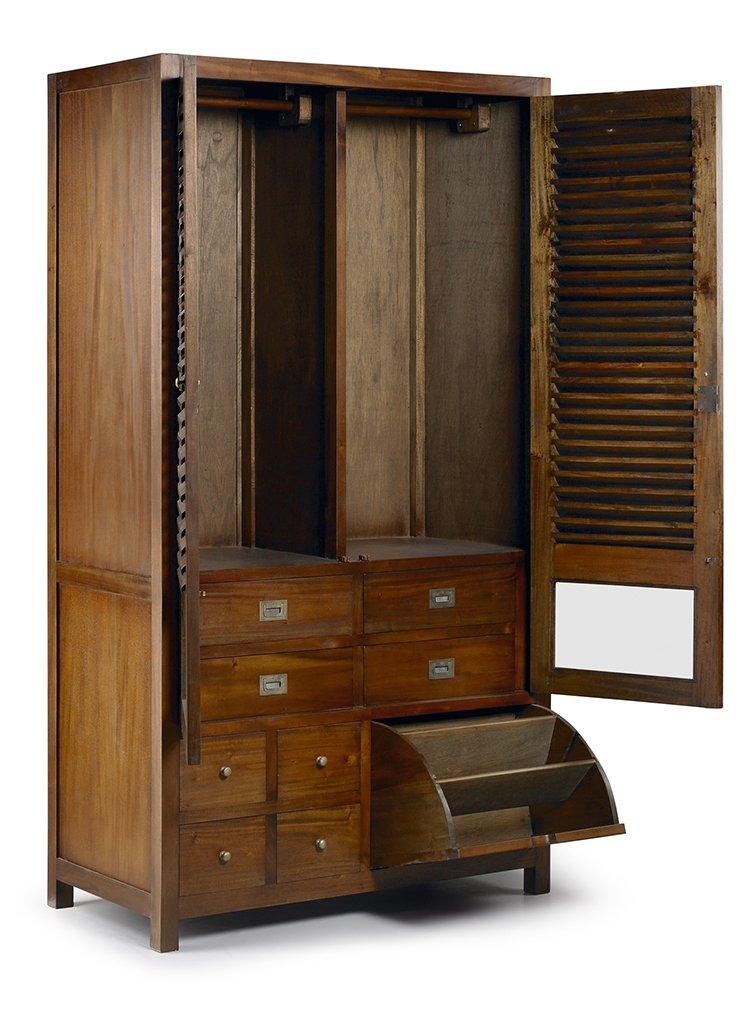 armoire de rangement avec meuble chaussures en bois. Black Bedroom Furniture Sets. Home Design Ideas