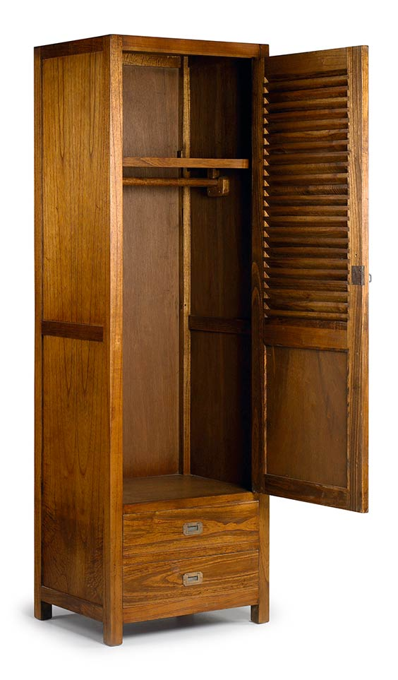 mawan armoire 1 porte en bois. Black Bedroom Furniture Sets. Home Design Ideas