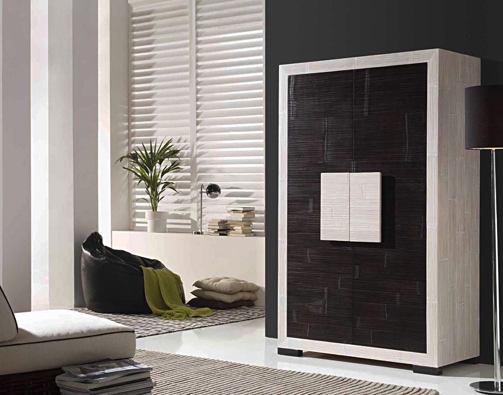 armoire bambou lamell weng c rus 5262. Black Bedroom Furniture Sets. Home Design Ideas