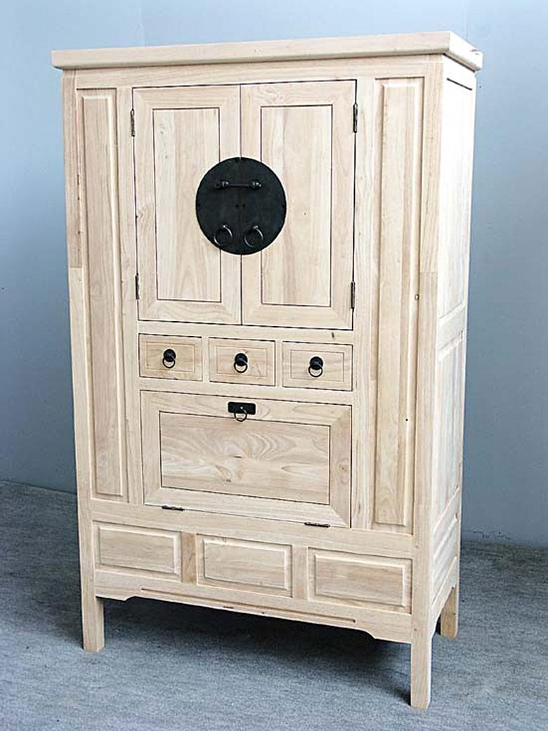 Placard bar 3 portes 3 tiroirs 105 50 170 cm for Porte de placard 50 cm