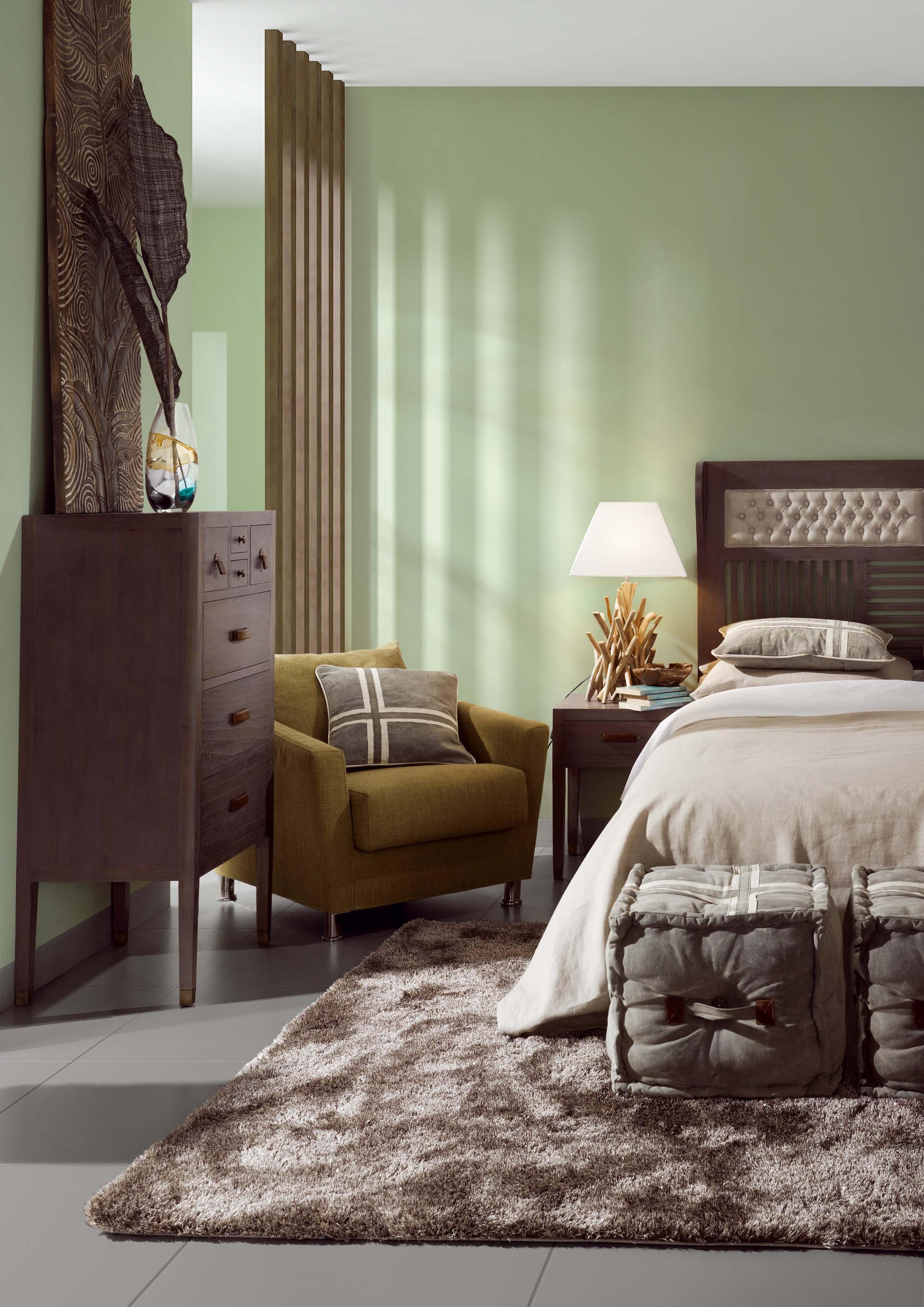 Banc pied de lit gris avec 2 tiroirs collection Tana