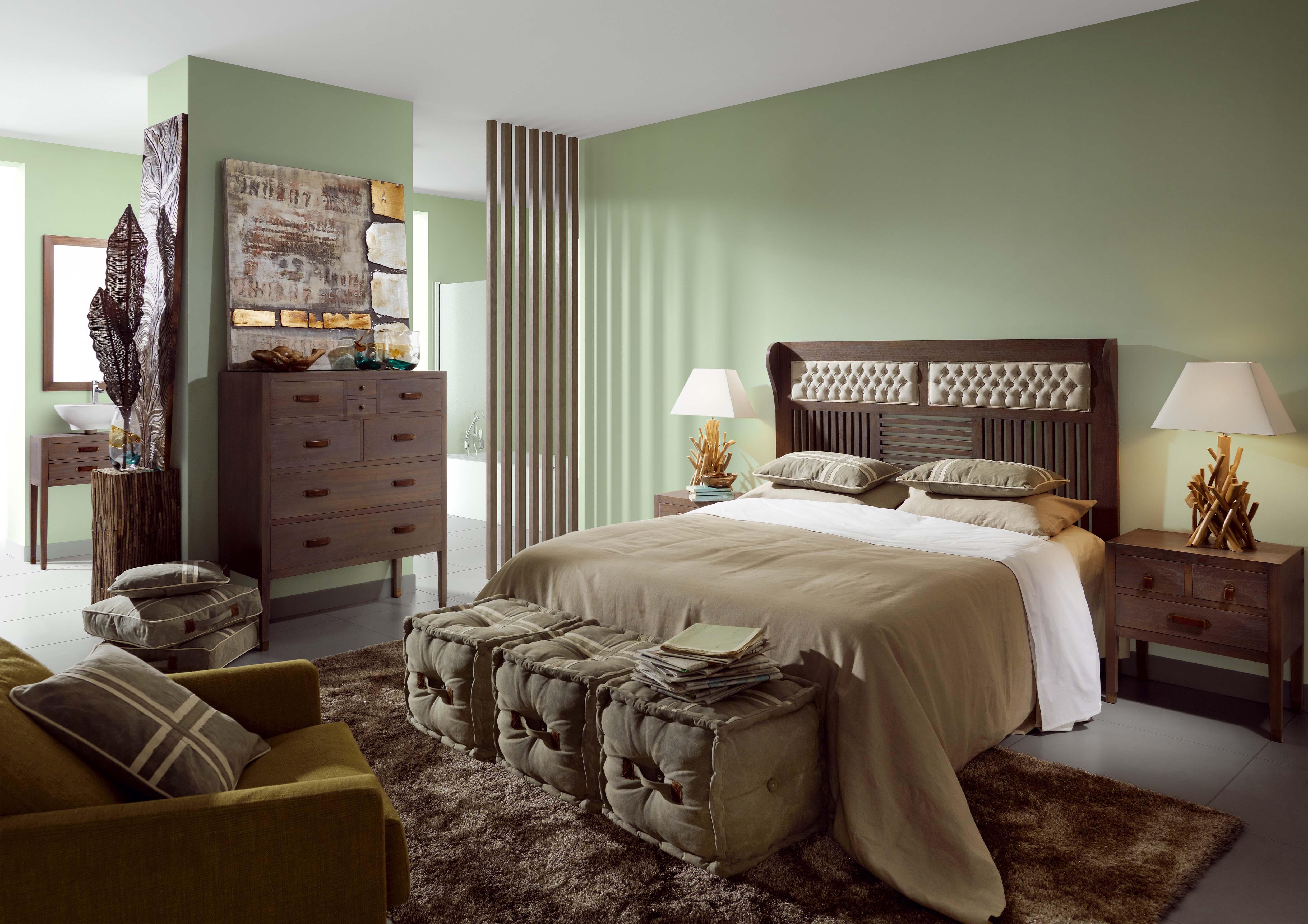 banc pied de lit gris avec 2 tiroirs collection tana. Black Bedroom Furniture Sets. Home Design Ideas