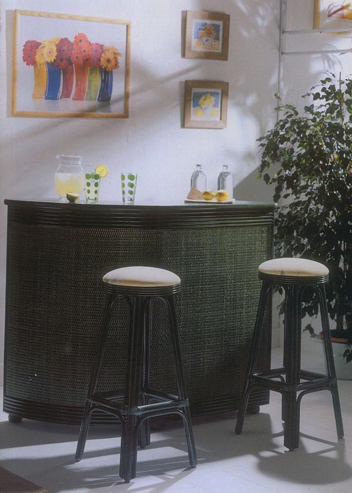 tabouret de bar rotin 4999. Black Bedroom Furniture Sets. Home Design Ideas