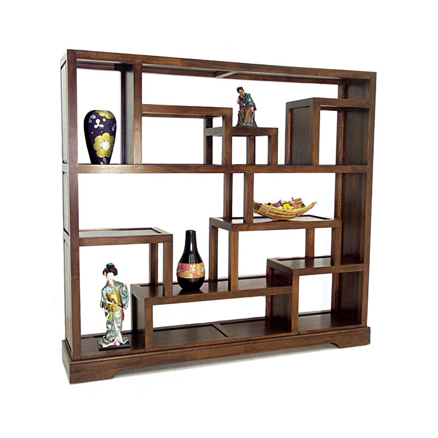 biblioth que tag re d structur e bois 5432. Black Bedroom Furniture Sets. Home Design Ideas