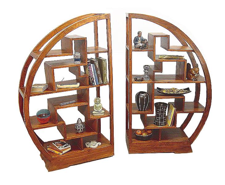 etag res biblioth ques palissandre d structur es arster 4987. Black Bedroom Furniture Sets. Home Design Ideas