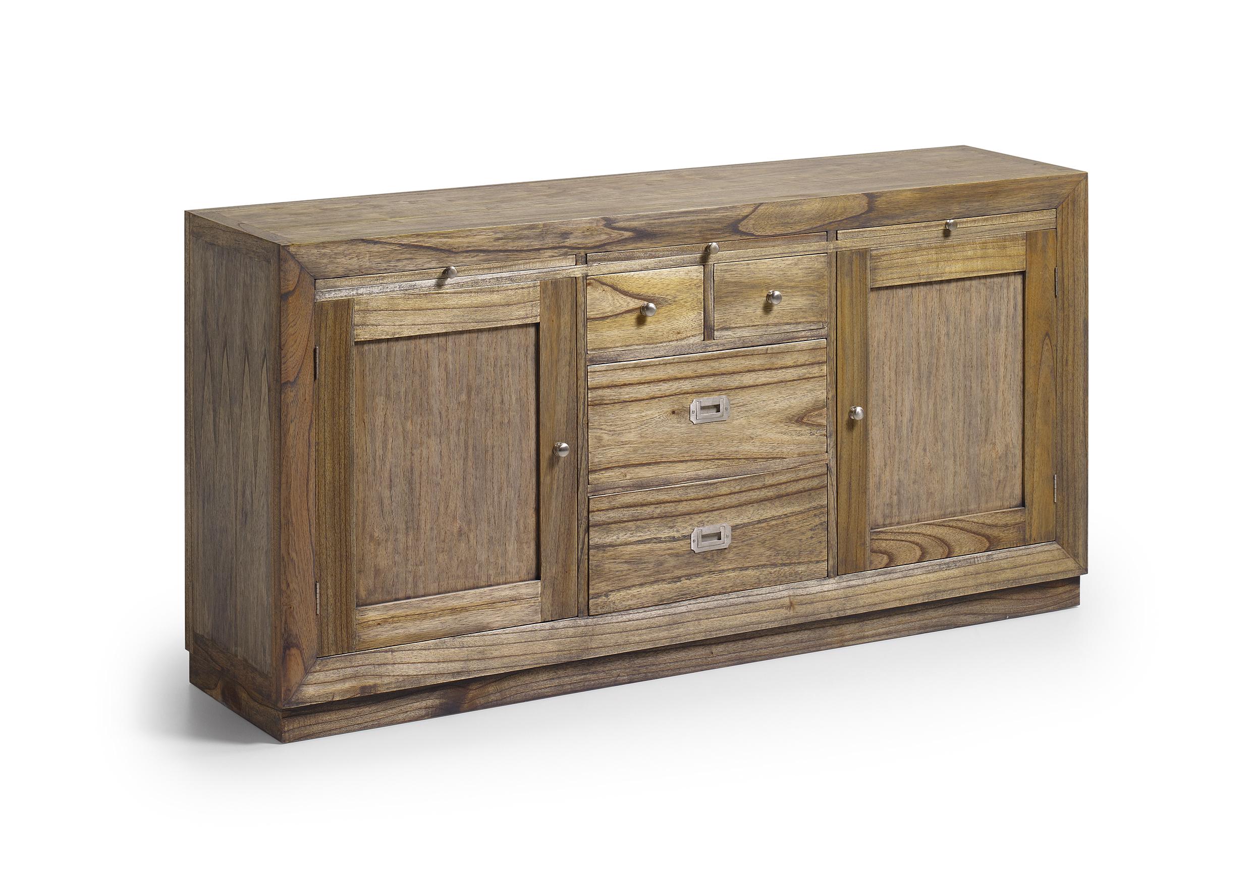 buffet long en bois de mindy collection ronja. Black Bedroom Furniture Sets. Home Design Ideas