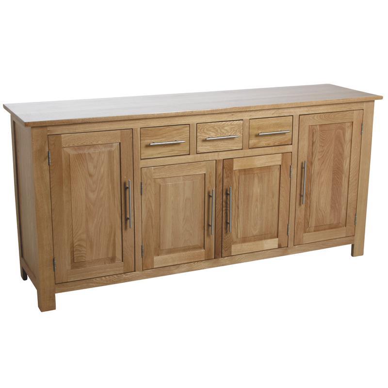 buffet en ch ne massif. Black Bedroom Furniture Sets. Home Design Ideas