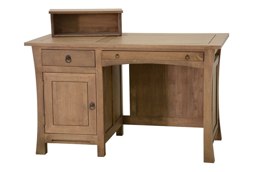 bureau avec porte et tiroirs jorg 5912. Black Bedroom Furniture Sets. Home Design Ideas
