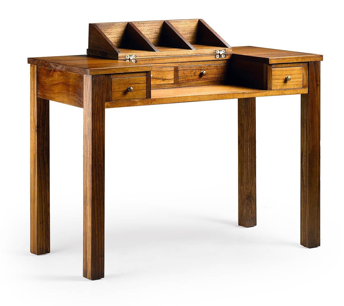 mawan bureau en bois massif. Black Bedroom Furniture Sets. Home Design Ideas