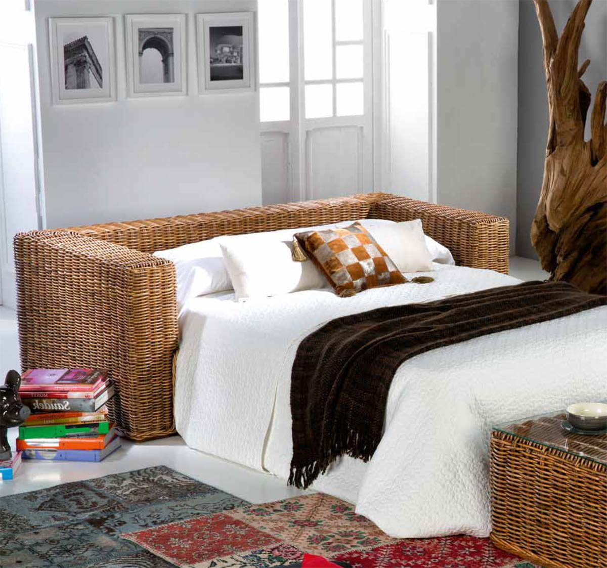 canap convertible exotique pullman 6368. Black Bedroom Furniture Sets. Home Design Ideas