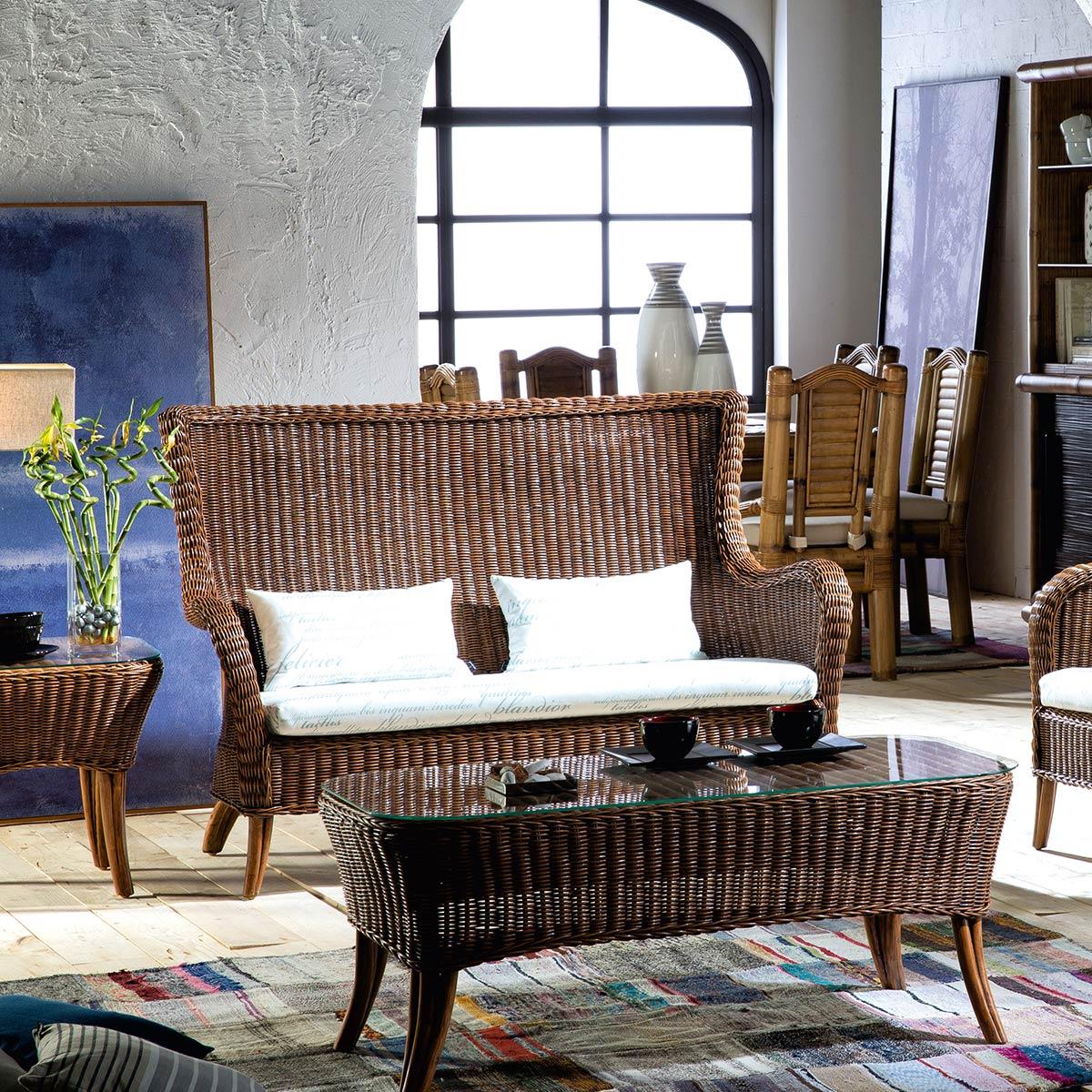 fauteuil haut dossier jacinthe d 39 eau 5453. Black Bedroom Furniture Sets. Home Design Ideas