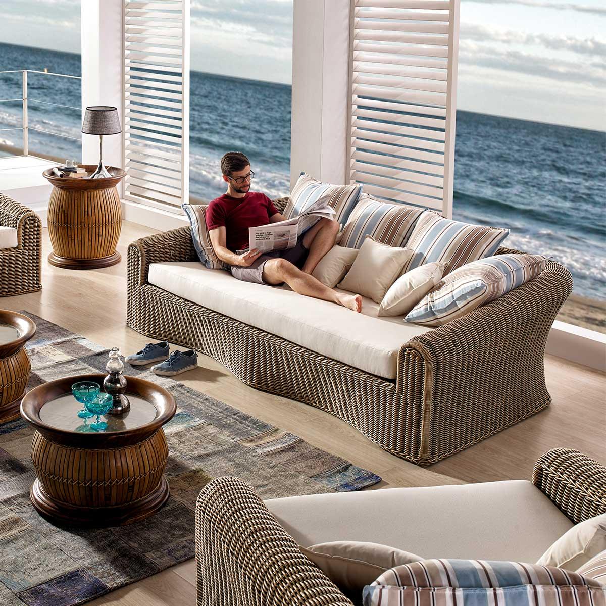 canap de salon haut de gamme avec coussin tissu au choix malaggar. Black Bedroom Furniture Sets. Home Design Ideas