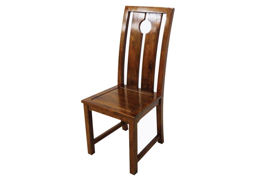 chaise bois haut dossier 5542. Black Bedroom Furniture Sets. Home Design Ideas