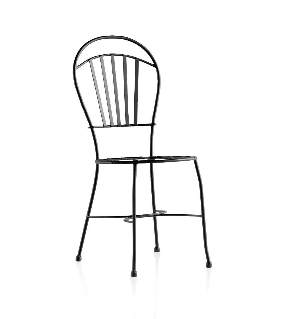Jeux De Chambre Pour Garcon : Chaise cuisine fer forgé et métal Mayorca  Image 1