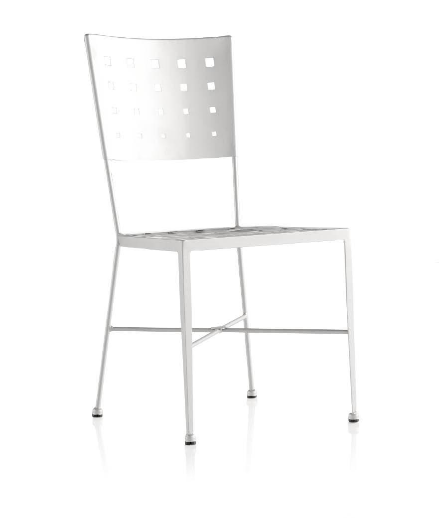 chaise en fer forg mornia polyvalente et. Black Bedroom Furniture Sets. Home Design Ideas