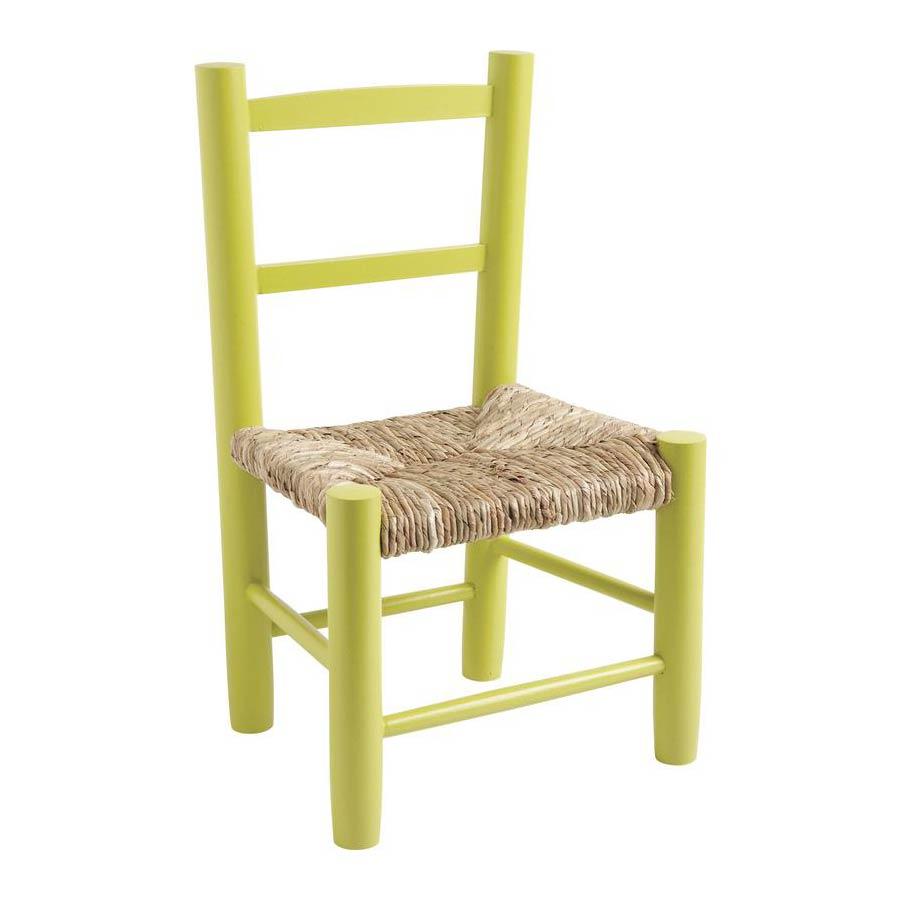 chaise enfant bois laqu anis liao 399. Black Bedroom Furniture Sets. Home Design Ideas