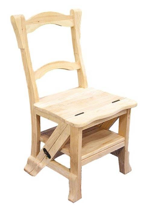 chaise escabeau florence. Black Bedroom Furniture Sets. Home Design Ideas