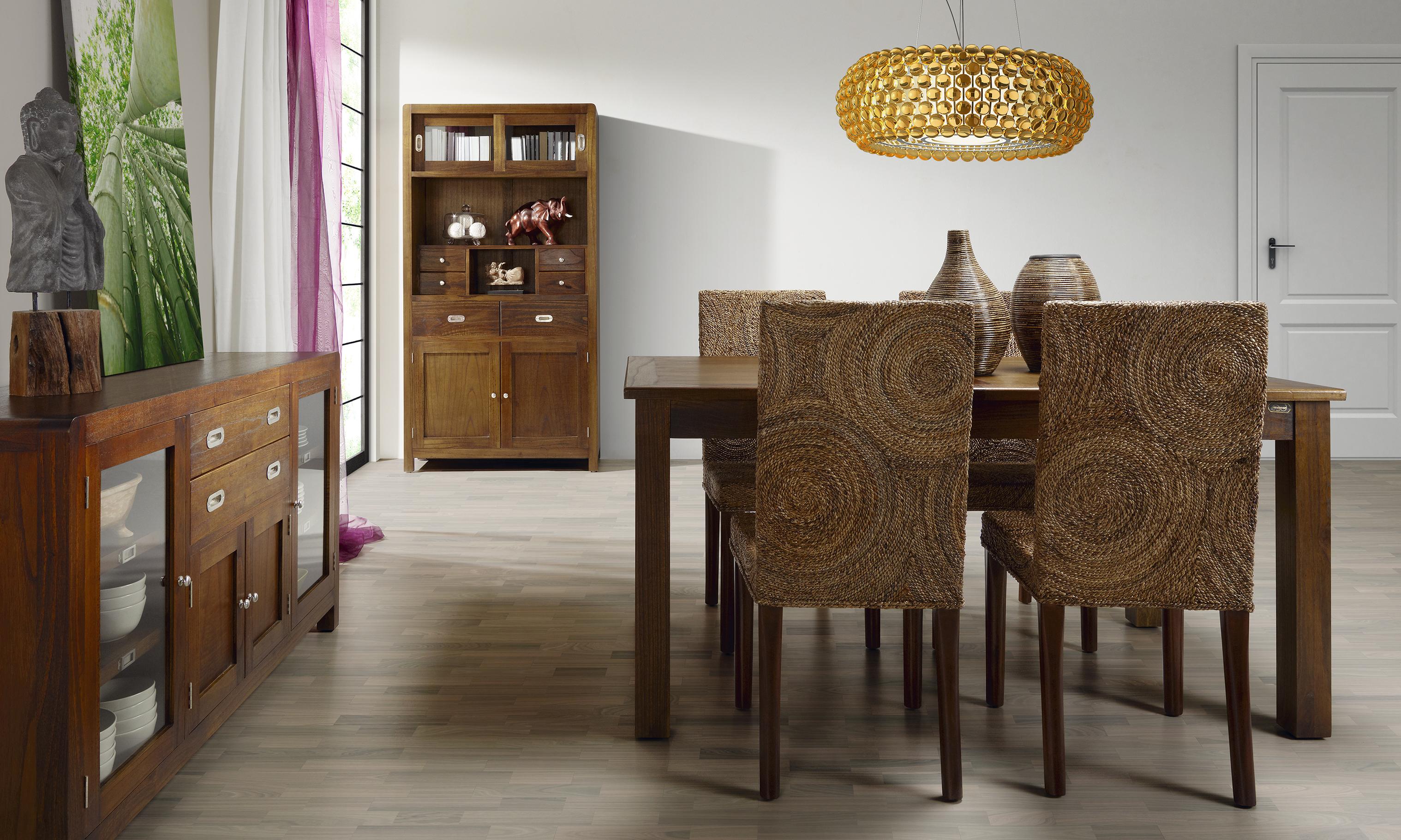 Chaise exotique circles for Milanuncios muebles de comedor