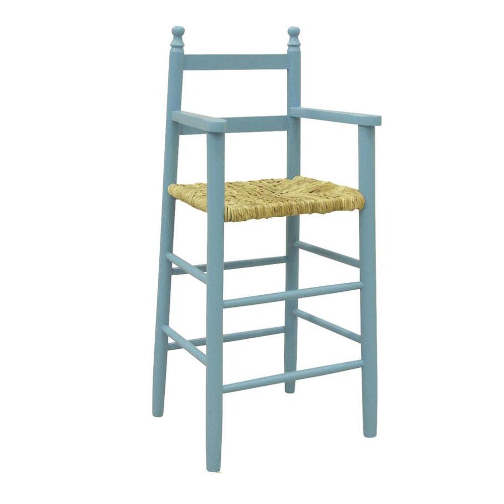 Chaise haute d enfant en bois massif r f 56 198 00 for Chaise haute bois