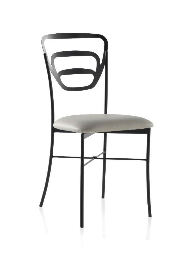 chaise m tal fer forg futura 5909. Black Bedroom Furniture Sets. Home Design Ideas