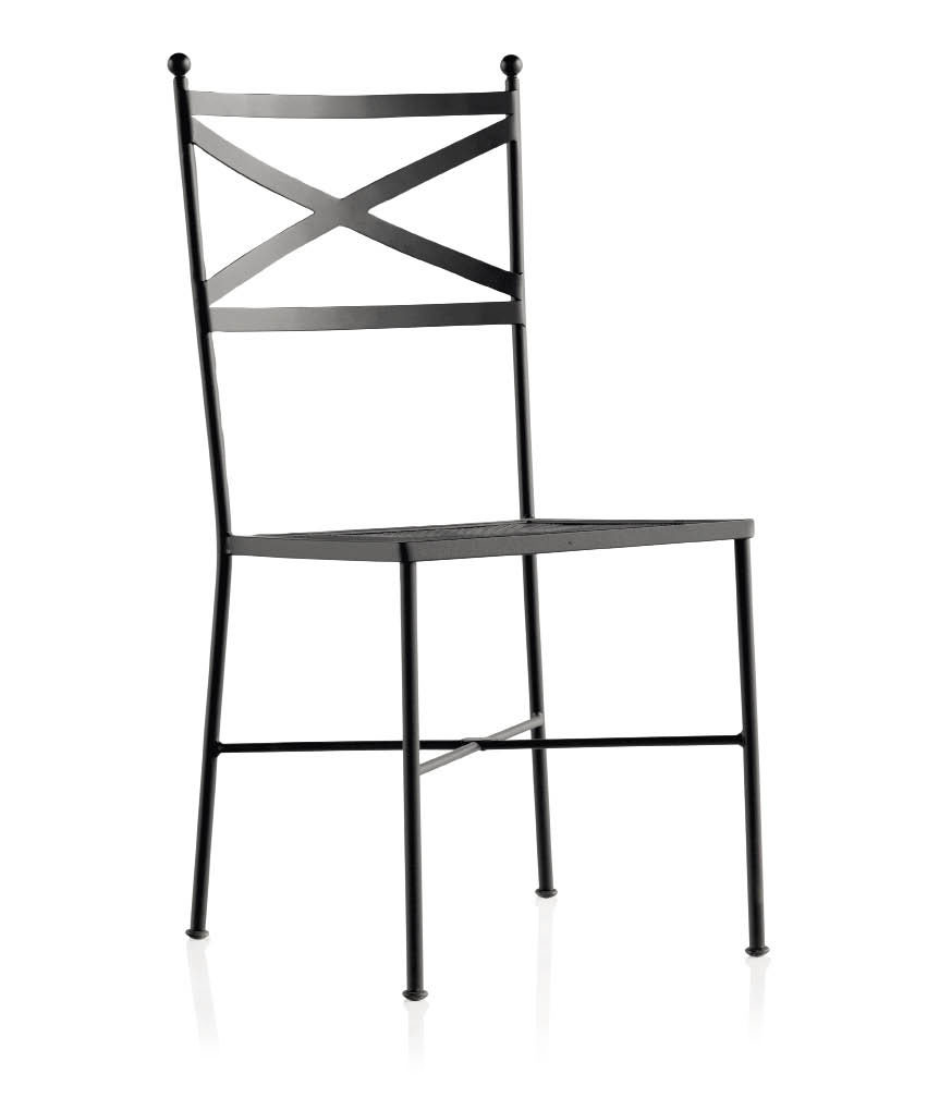 chaise m tal jardin jurasi 5910. Black Bedroom Furniture Sets. Home Design Ideas