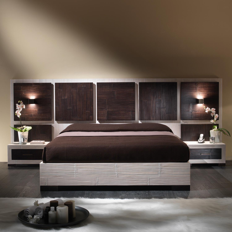 Chambre compl te haut de gamme bambou d roul bicolore Chambre bebe haut de gamme