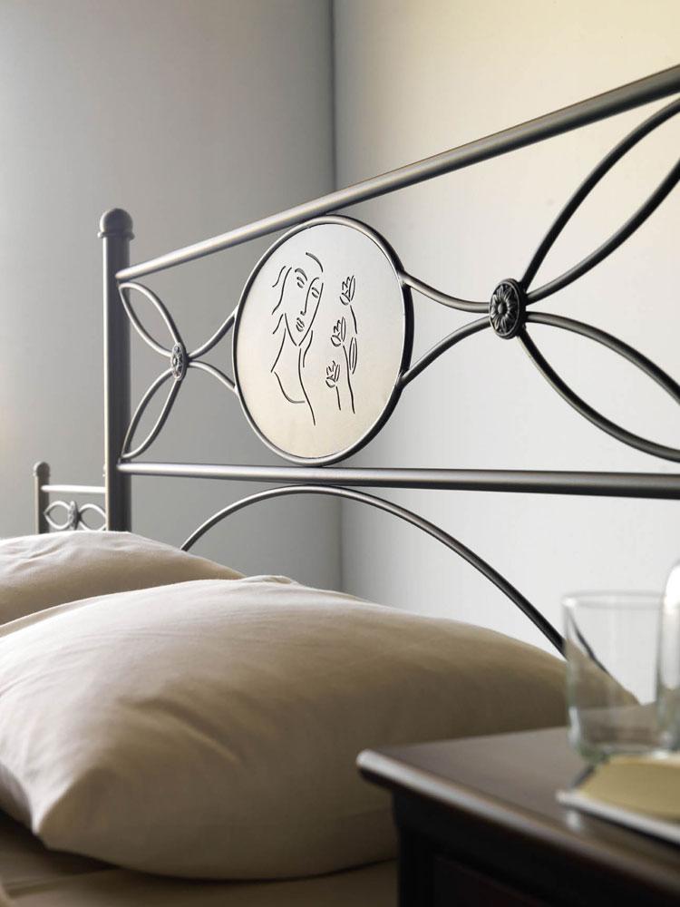 t te de lit fer forg acier rodrag 5871. Black Bedroom Furniture Sets. Home Design Ideas