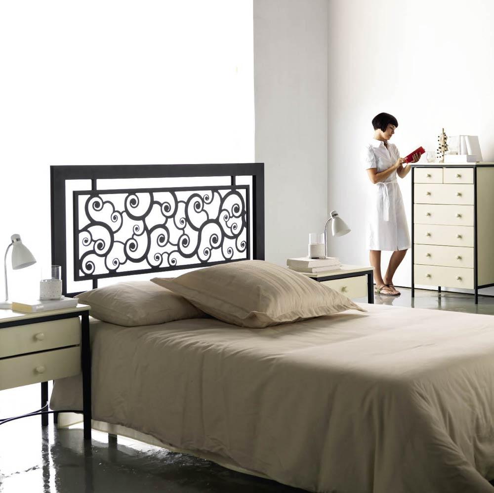 Tête de lit design métal Rotilde #5853