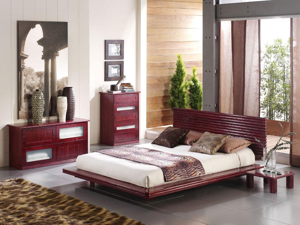 table de nuit rotin 481. Black Bedroom Furniture Sets. Home Design Ideas