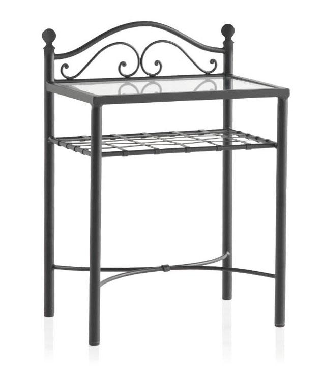 chevet fer forg sur mesure bardet 6129. Black Bedroom Furniture Sets. Home Design Ideas