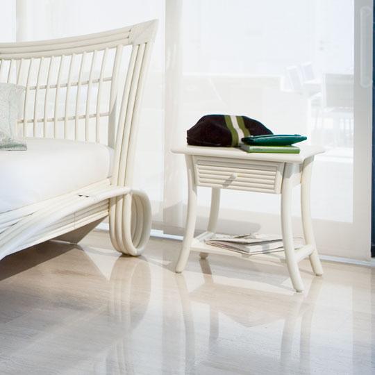 table de nuit rotin rhila 1 tiroir. Black Bedroom Furniture Sets. Home Design Ideas