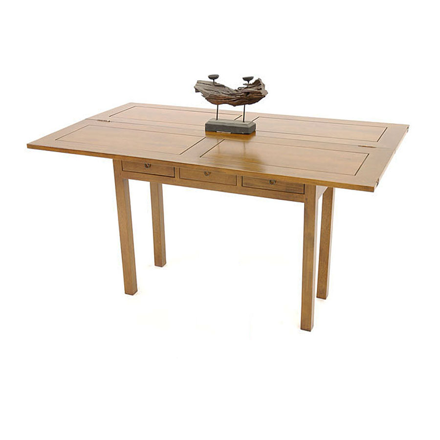 Console pliante transformable en table arster - Table pliable bois ...