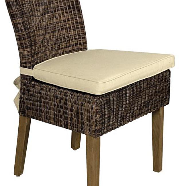 Galette de chaise et coussin d 39 assise cru - Galette de chaise avec scratch ...