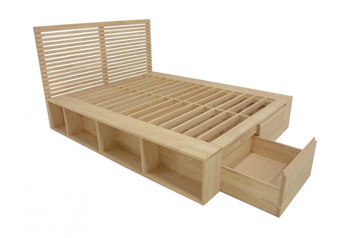 Escalier En Bois Avec Rangement bentrey, lit avec rangements, bois écologique