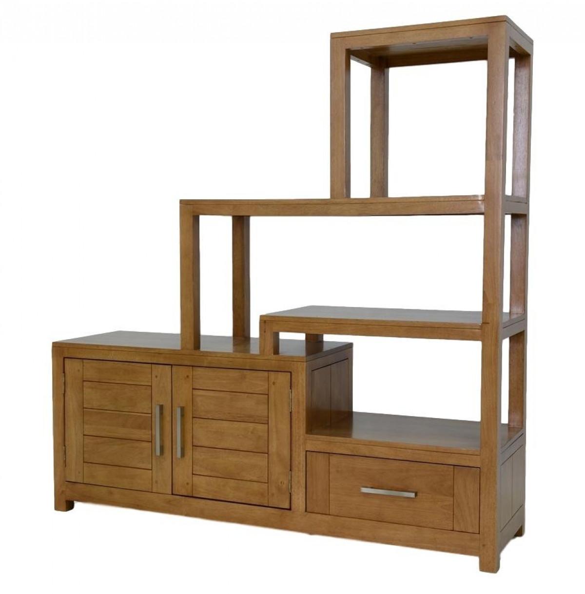 Meubles Cloison Double Face ahor, meuble de séparation, bois recyclé