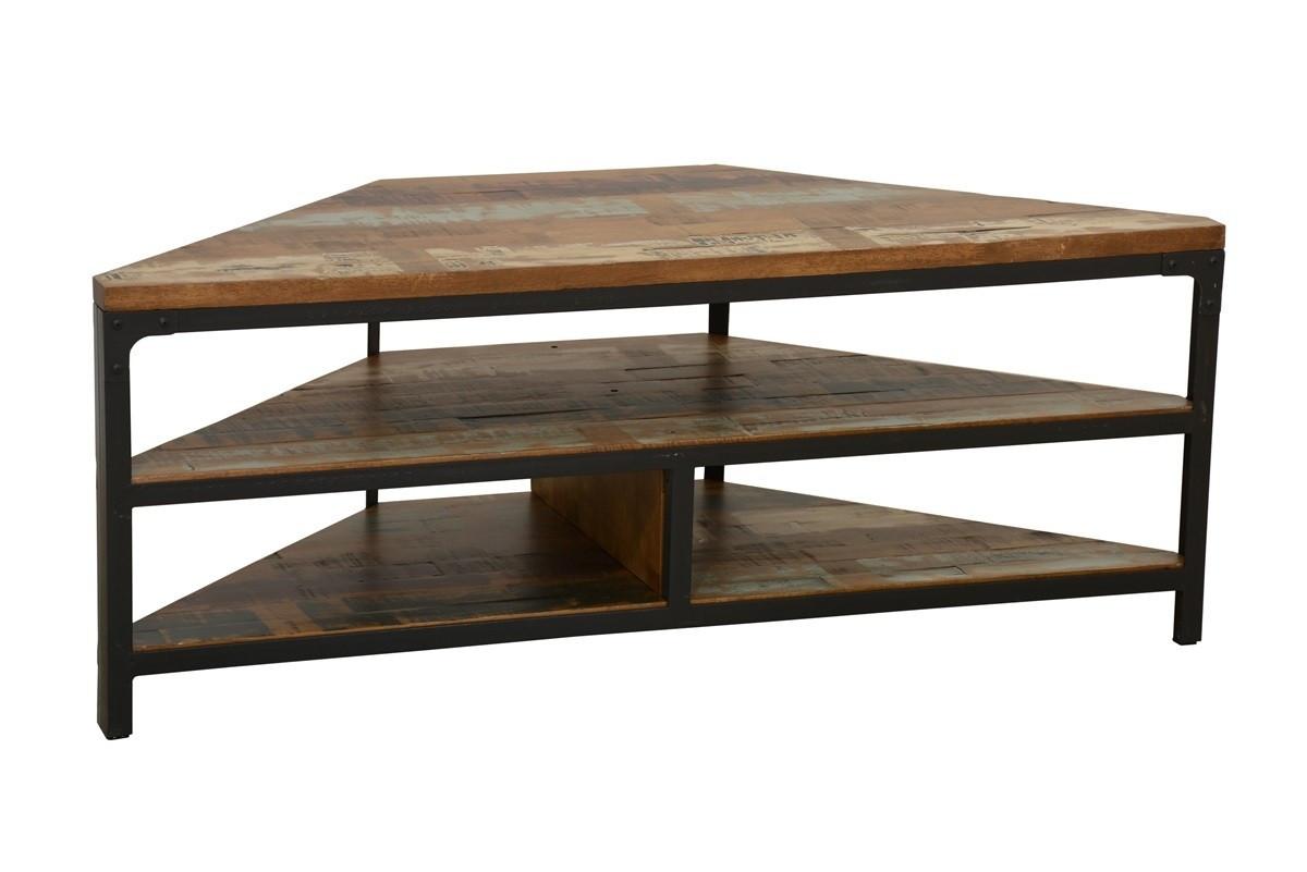 Meuble D Entrée Industriel indus, meuble tv d'angle, style industriel