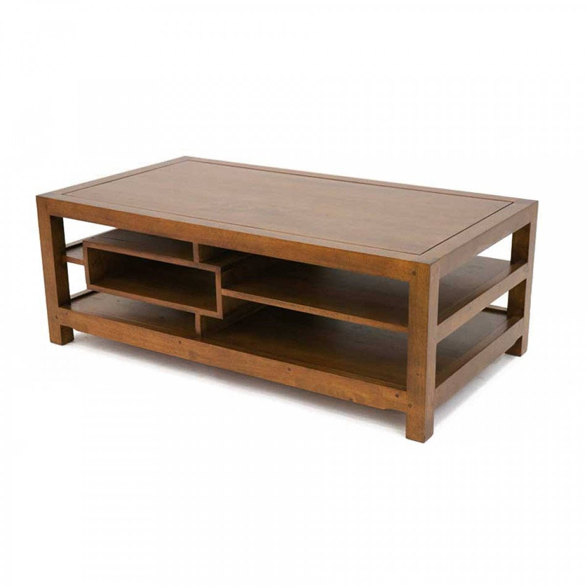 Table Basse Rectangulaire Bois Arster 5395