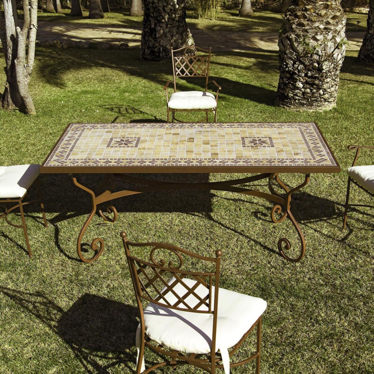 Table Zellige A La Fabrication Sur Mesure