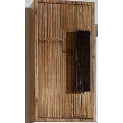 Indah, lampadaire exotique, bambou déroulé