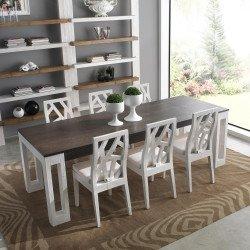 Table à Table à bambou salle manger salle manger à Salle sQtrdhC