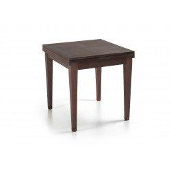 Table De Repas Grise Avec Rallonges Grande Tablée Collection Tana