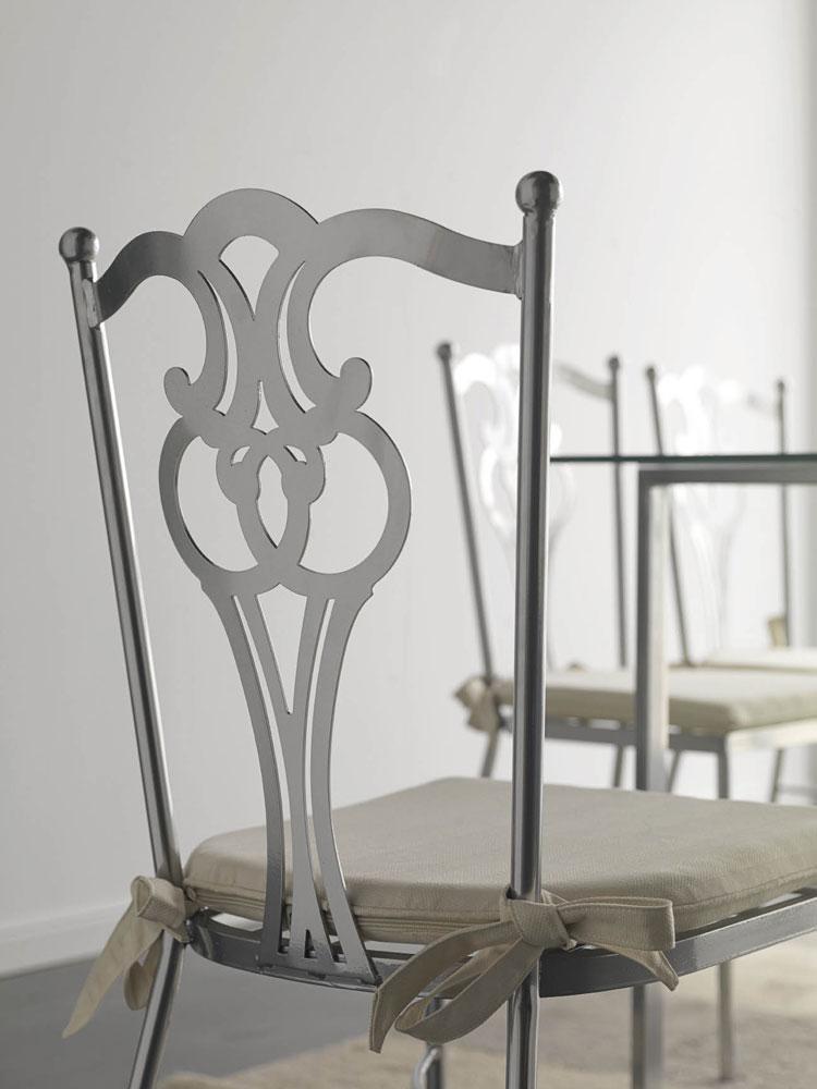 bridge fer forg avec coussin aniev 5888. Black Bedroom Furniture Sets. Home Design Ideas