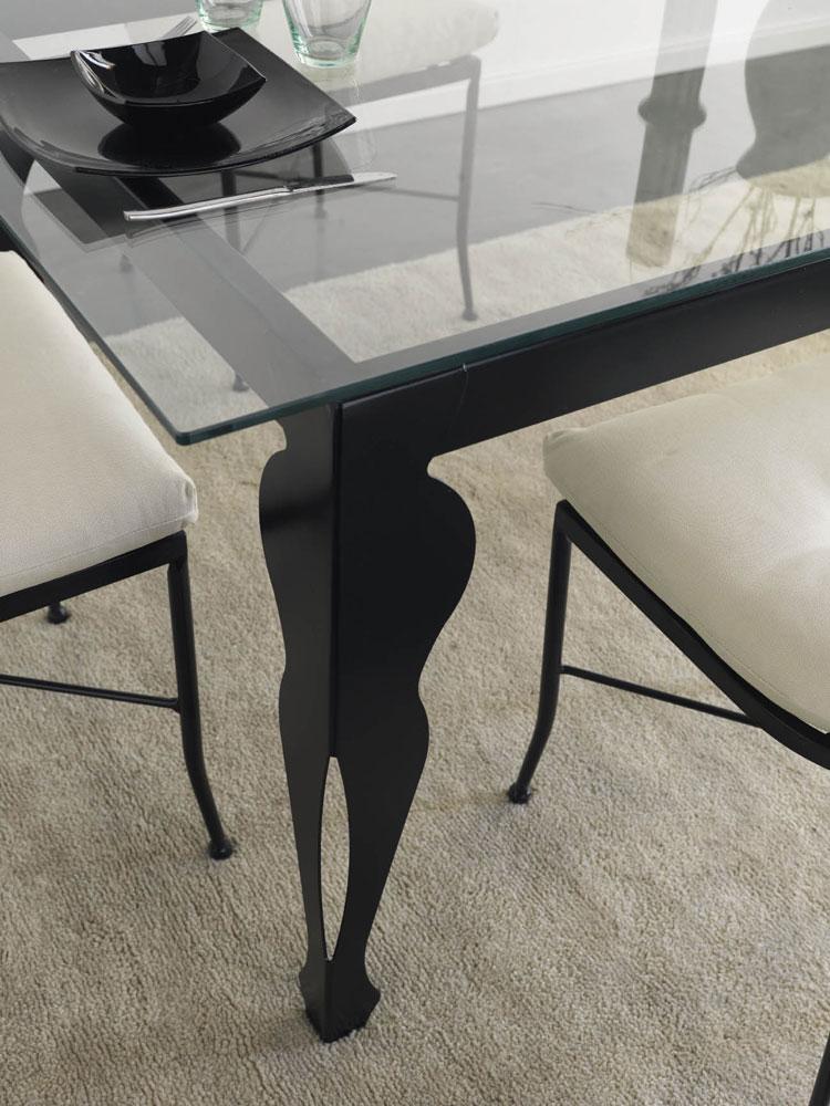 chaise fer forg m tal valor 5903. Black Bedroom Furniture Sets. Home Design Ideas